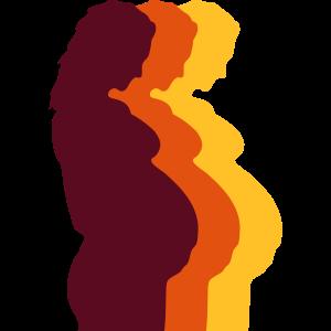 Schwangere Frau Design
