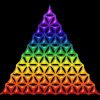 Flower Of Life Pyramide chakra