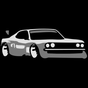 Rennauto Tuning Car