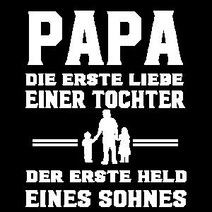 Tochter Sohn Dad Vater Papa Held Liebe Shirt