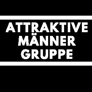 Attraktive Männer Gruppe