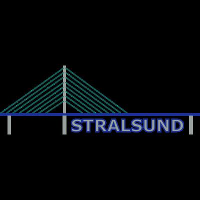 Stralsund - Stralsund, an der Ostsee gelegen, das Tor zur Insel Rügen. - Strelasund,Stralsund,Rügenbrücke,Rügen,Meerenge,Mecklenburg-Vorpommern,HST