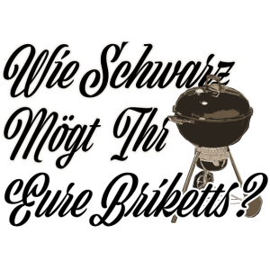 Grillen - Schwarze Briketts