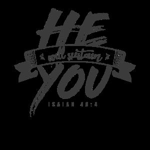 Er wird dich unterstützen, Christliches Geschenk
