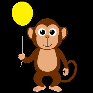 Affen Design Personalisieren als Geschenk Affe