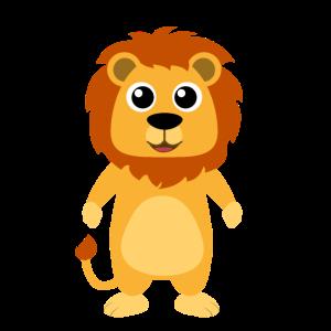 Löwen Design Personalisieren als Geschenk Löwe