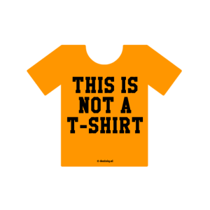 Kein T-Shirt