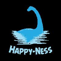 Schottland Ungeheuer von Loch Ness Happy-Ness