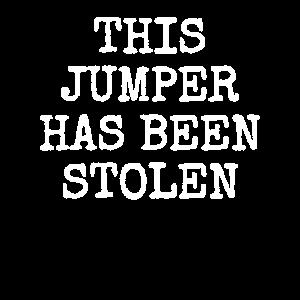 Geklauter Pullover