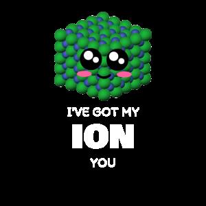 Ich habe mein Ion, du süßes Wortspiel
