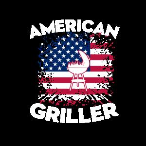 BBQ T-Shirt American Griller