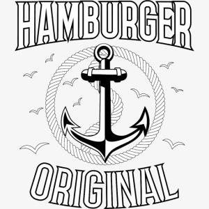 95 Hamburger Original Anker Seil