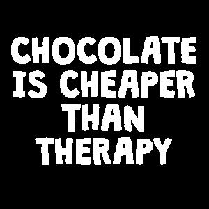 Schokolade ist günstiger als Therapie