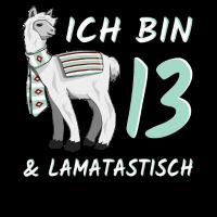 13 Jahre Lama Geschenk 13. Geburtstag lamatastisch