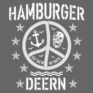 97 Hamburger Deern Peace Friedenszeichen Seil