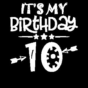 Es ist mein 10. Geburtstag Geschenk Kind 10 Jahre
