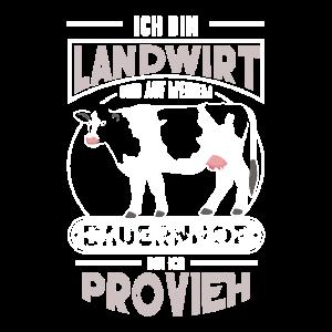 Landwirt ProVieh Bauernhof bunt Cess
