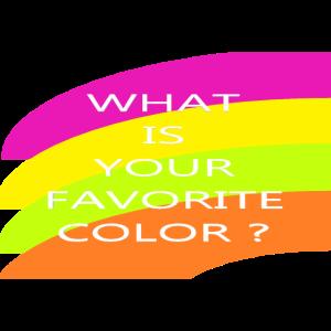 2 Was ist Ihre Lieblingsfarbe?