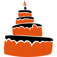 Geburtstagstorte Kerze 1606