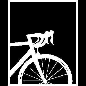 Rennrad im Rahmen