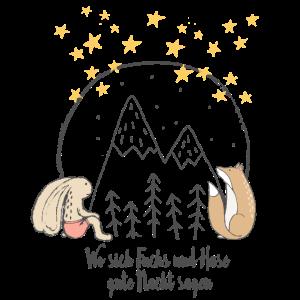 Fuchs und Hase | Gute Nacht