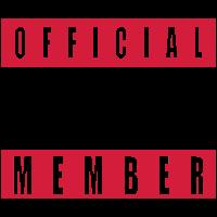 Cool Official Crew Member Team Logo
