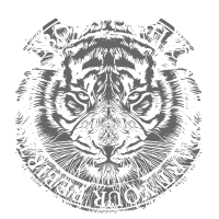 Tiger Dunkel Grau weiss 2reborn