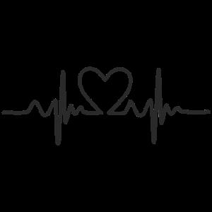 Herzschlag - Geschenk Idee