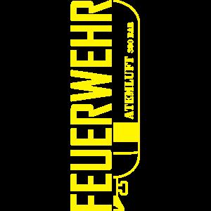 Atemschutzflasche Feuerwehr AGT Atemschutzgerät