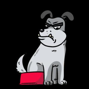 Wachhund Hundehalter Hunde Hund Tiere