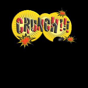 Crunch Comic Comicstyle Cartoon Sprechblase