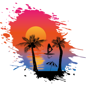 Strand Palmen Meer