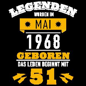 Legenden wurden im Mai 1968 geboren