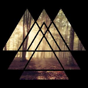 Wald Wildnis Naturliebhaber Kunst Geschenk