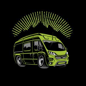 Kastenwagen Camping Shirt