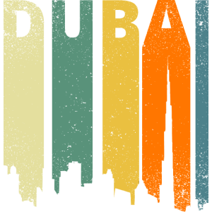Dubai Retro Panorama
