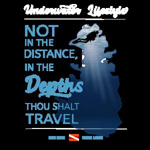 Nicht in die Ferne in die Tiefe sollst Du reisen