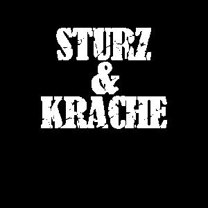 Sturz und Krache Satire Spruch Wien Österreich