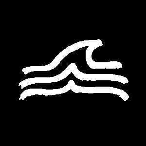 Welle Sport surfen schwimmen Wasser Wellen Meer