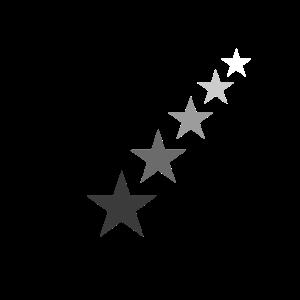 Sterne von Schwarz zu weiß Grautöne Geschenkidee