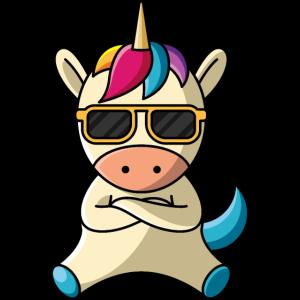 Cooles Einhorn, geschenk sonnenbrille cool