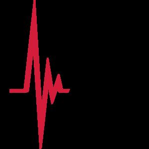 Herzschlag Puls Frequenz Icon Rennen