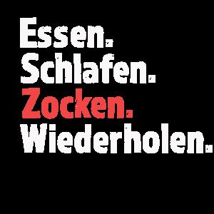 Zocken Gamer