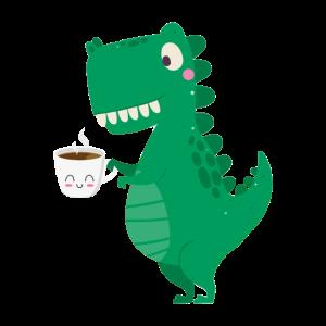 coffee rex Kaffesaurusrex