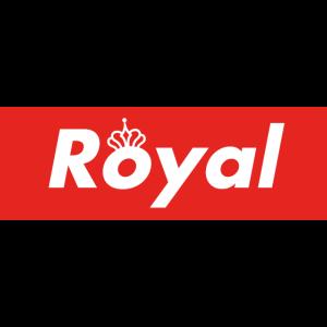 Royaler Schriftzug