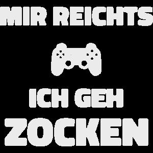 Gaming Gamer Zocken Zocker Shirt Geschenk