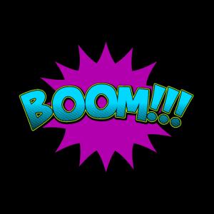 Cartoon Comic Boom!!!