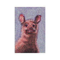 Hässliche Ratte