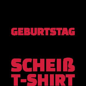 Geburtstag T-shirt