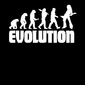 Evolution gitarrist gitarre musik